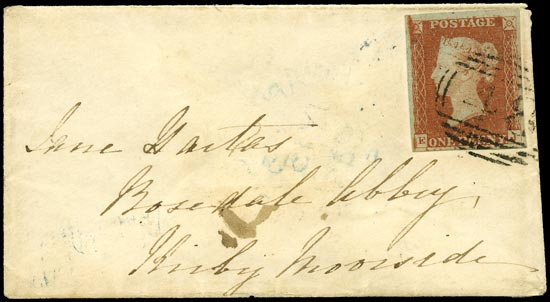 GB 1841  SG8 Pl.61 Cover