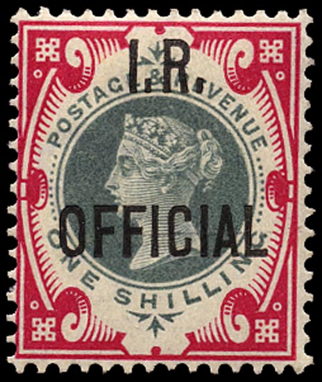GB 1901  SGO19 Official M/M o.g. example