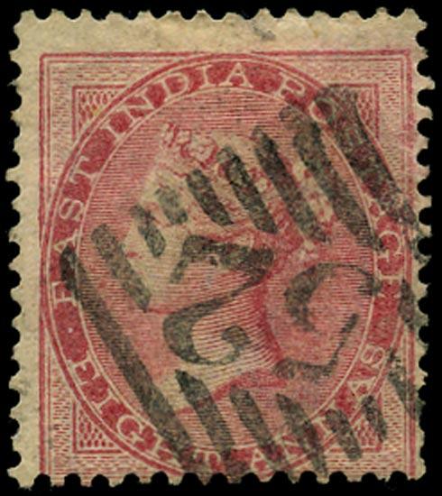 INDIA 1865  SG65 Used