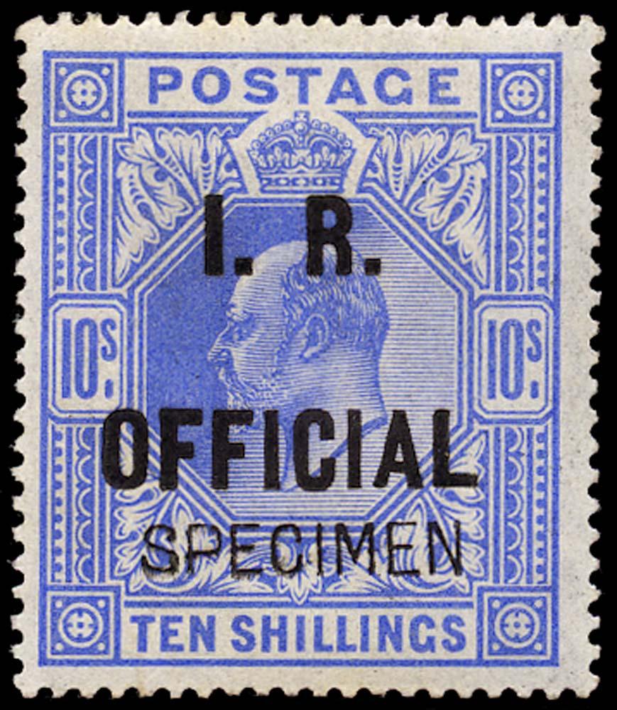GB 1902  SGO26s Official