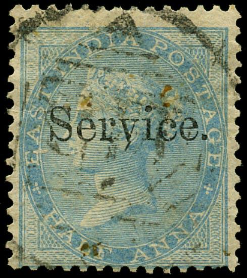 INDIA 1866  SGO2 Official