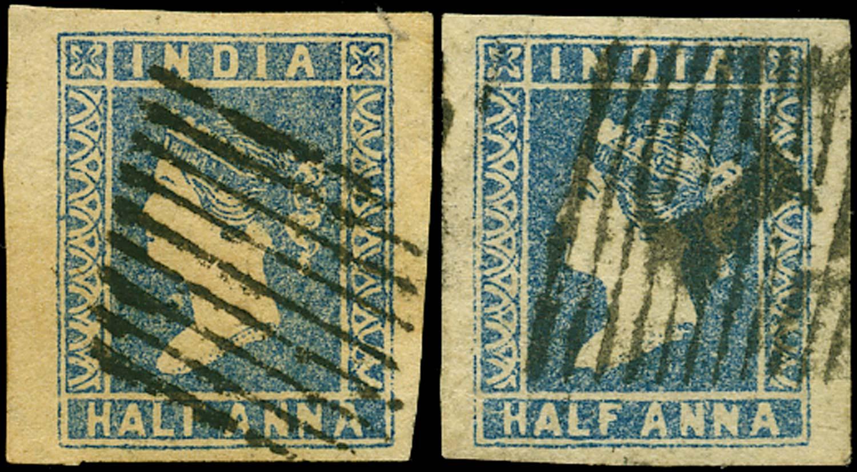 INDIA 1854  SG2 Cancel