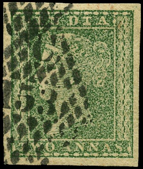 INDIA 1854  SG31 Cancel