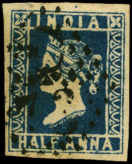 INDIA 1854  SG10 Used