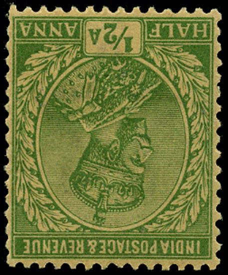 INDIA 1911  SG155w Mint