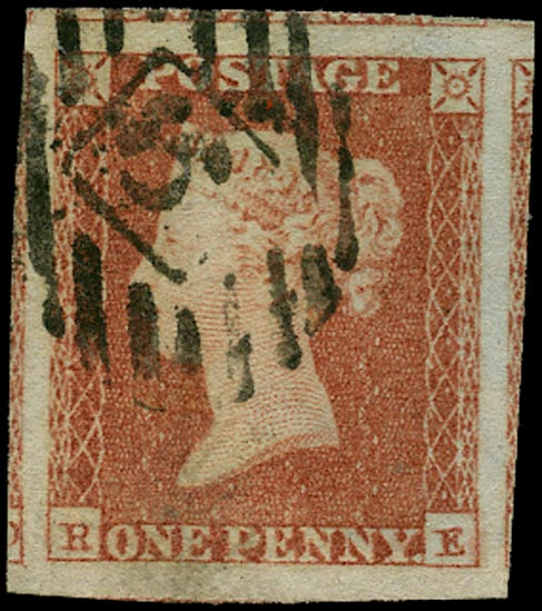 GB 1841  SG8 Pl.95 Used