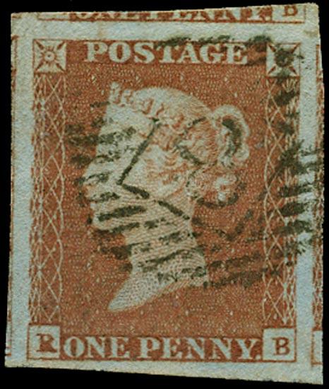 GB 1841  SG8 Pl.86 Used