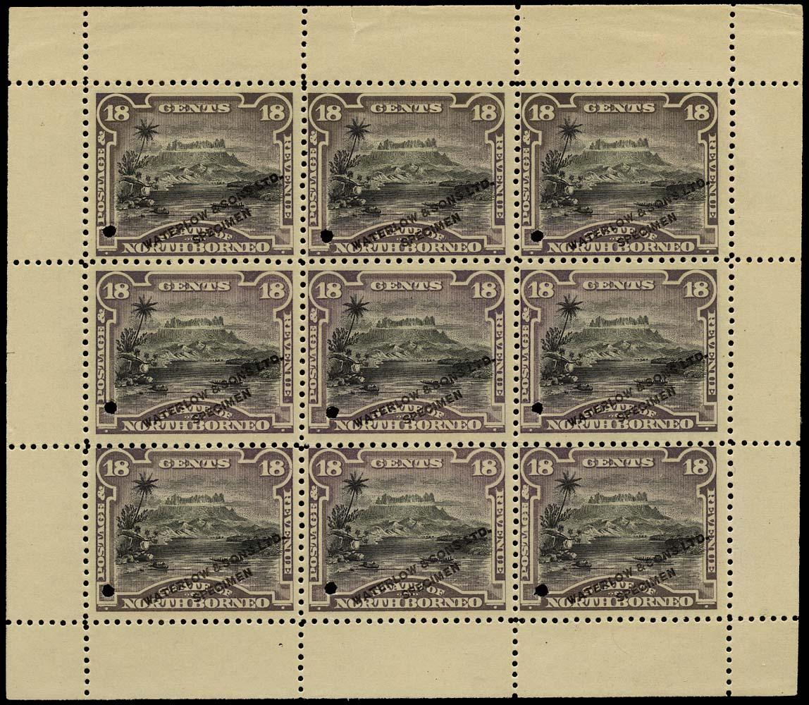 NORTH BORNEO 1894  SG78 Proof