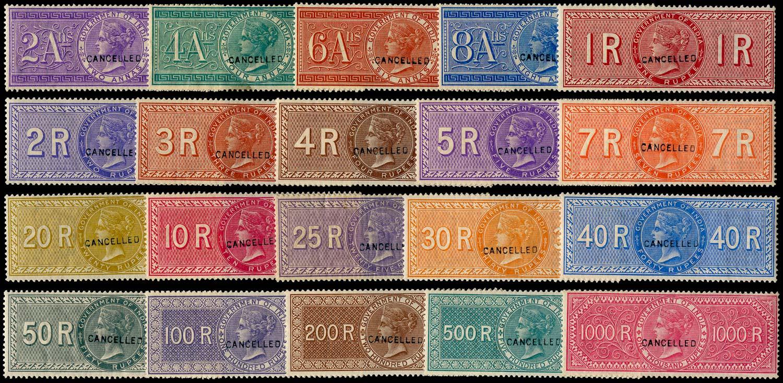 INDIA 1866 Revenue Special Adhesive