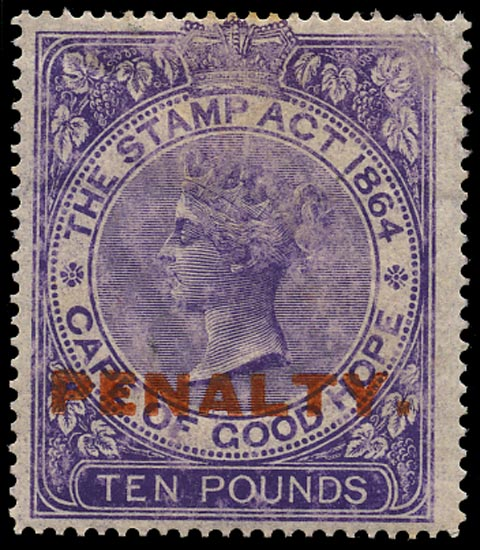 CAPE OF GOOD HOPE 1911 Mint Penalty
