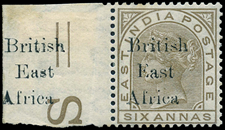 BRITISH EAST AFRICA 1895  SG56var Mint