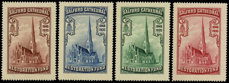 GB 1935 Cinderella - Salford Cathedral Restoration Fund u/m