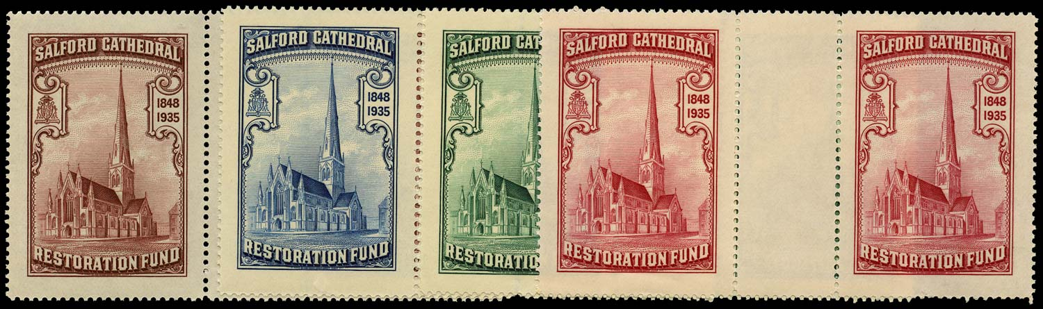 GB 1935 Cinderella - Salford Cathedral Restoration Fund u/m