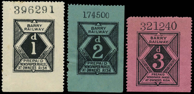 GB 1897 Railway - Barry Railway