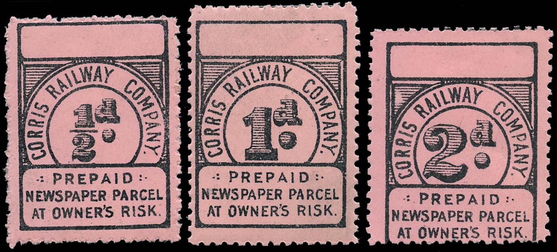 GB 1895 Railway - Cornwall Railway