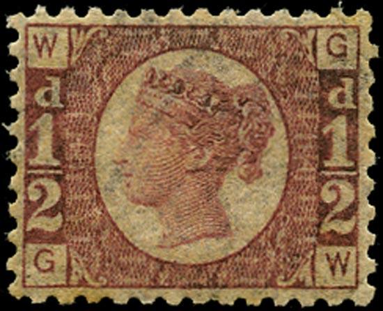 GB 1870  SG48 Pl.14 Mint unmounted o.g.