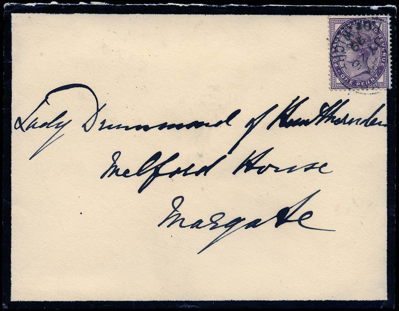 GB 1899  SG172 Cover - from Osbourne House