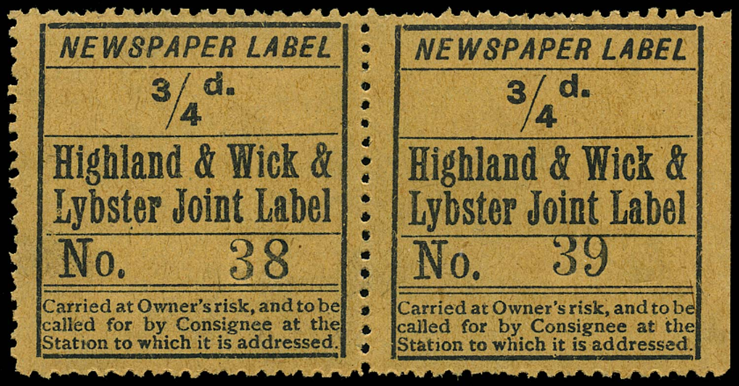 GB 1900 Railway - Highland, Wick & Lybster Joint Railway