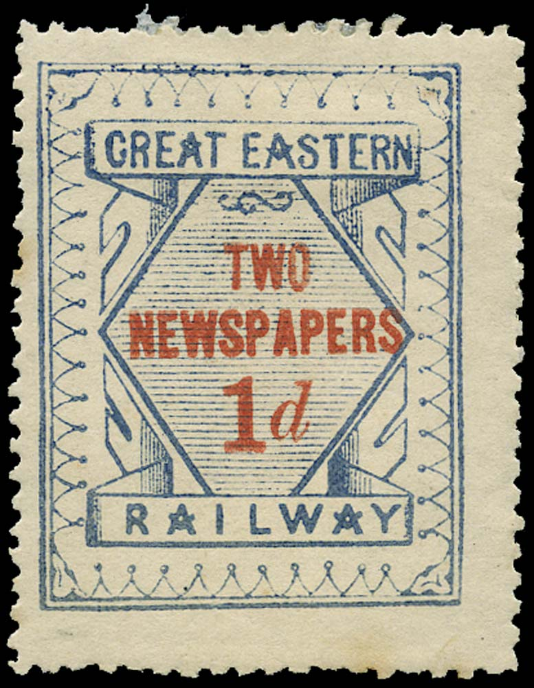 GB 1866 Railway - Great Eastern Railway