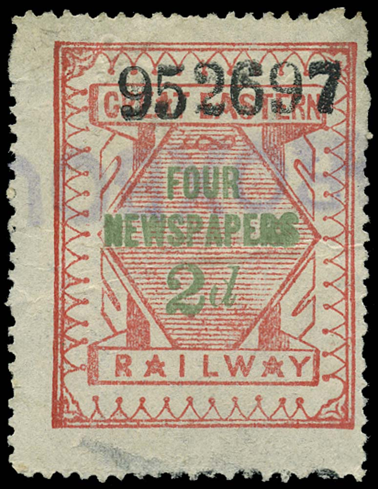GB 1890 Railway - Great Eastern Railway