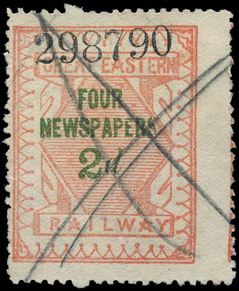 GB 1890 Railway - Great Eastern Railway