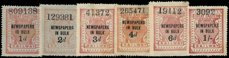 GB 1903 Railway - Great Eastern Railway