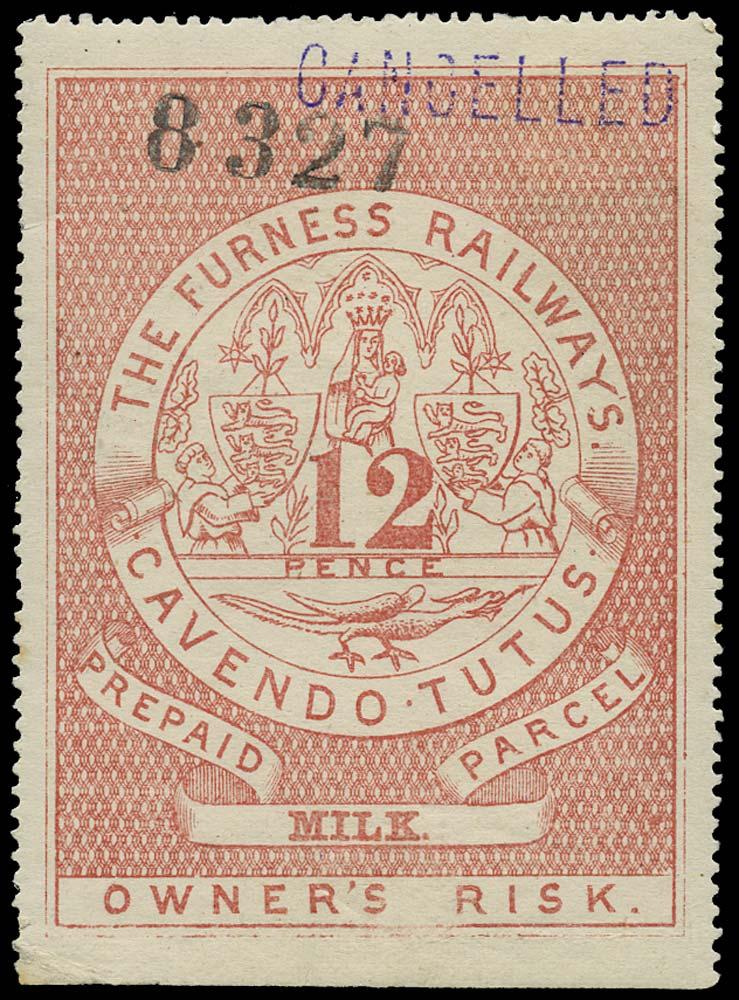 GB 1870 Railway - Furness Railway