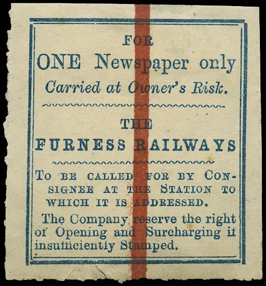 GB 1865 Railway - Furness Railway