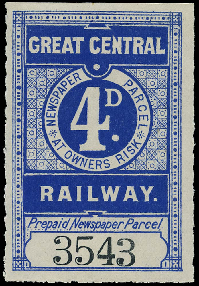 GB 1905 Railway - Great Central Railway