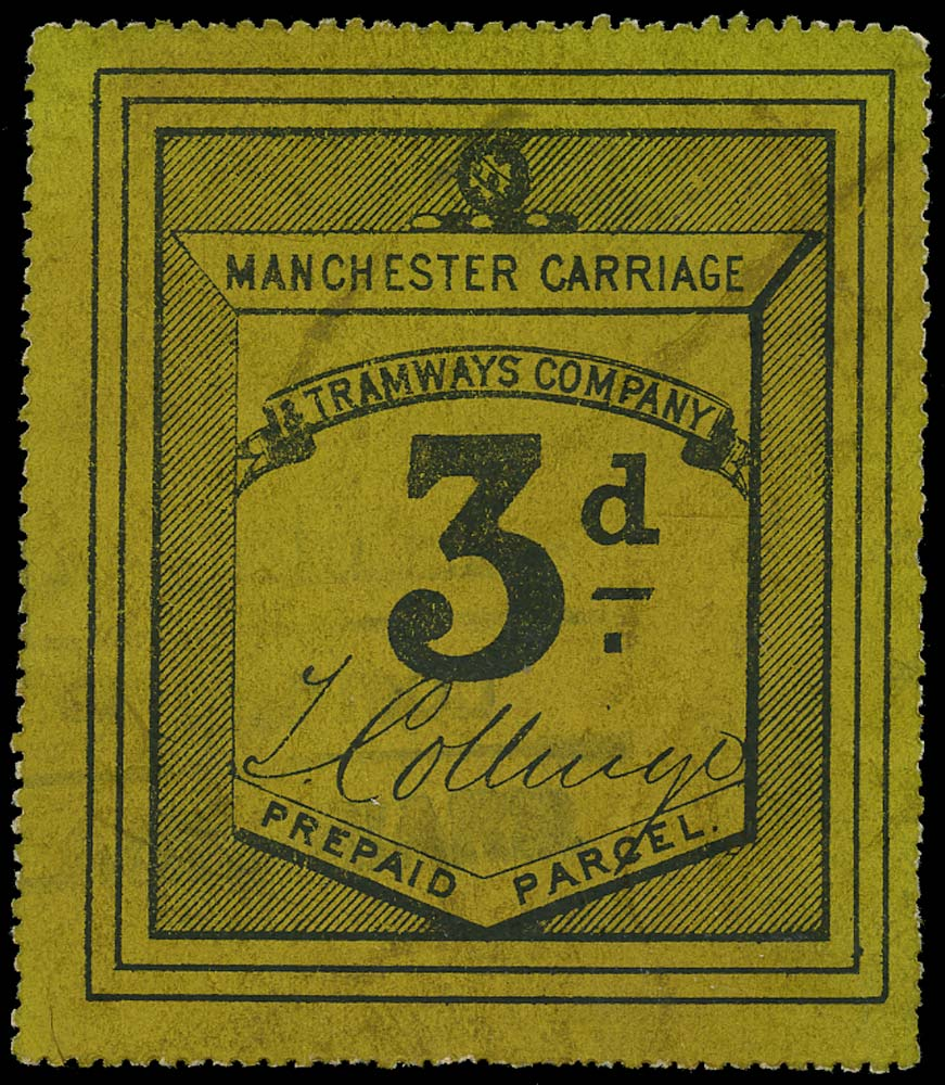 GB 1896 Railway - Manchester Carriage & Tramways Co