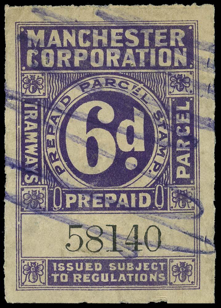 GB 1905 Railway - Manchester Corporation Tramways