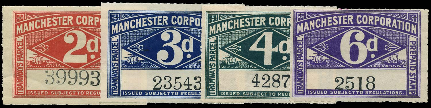 GB 1905 Railway - Manchester Corporation Tramways