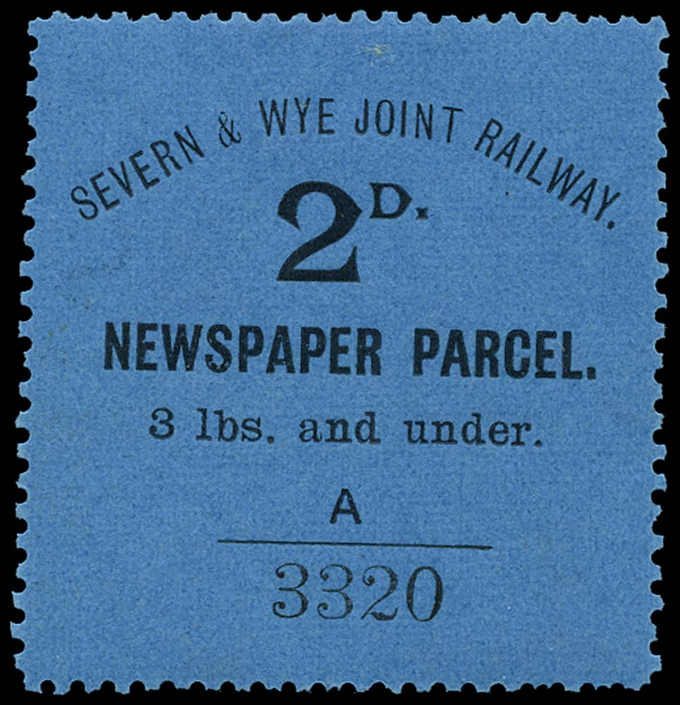 GB 1904 Railway - Severn & Wye Joint Railway