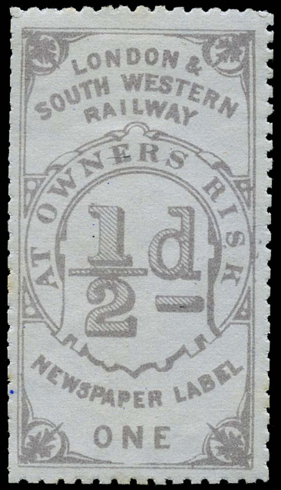 GB 1868 Railway - London & South-Western Railway