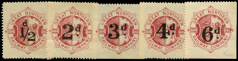 GB 1906 Railway -  Great Northern Railway