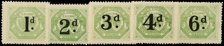 GB 1899 Railway -  Great Northern Railway