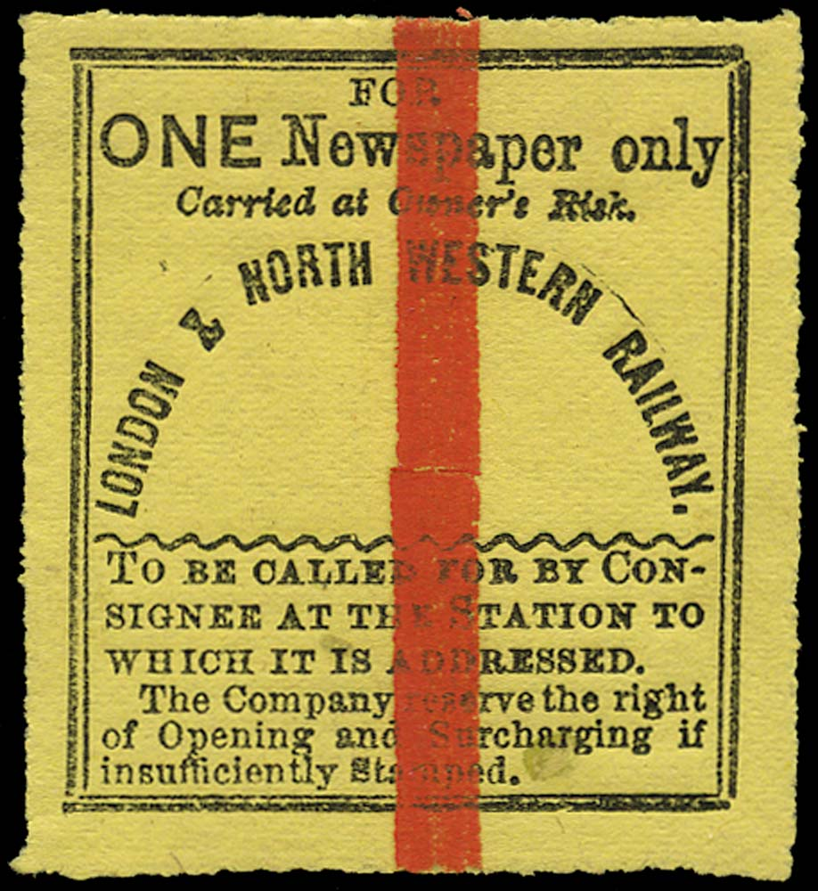 GB 1867 Railway - London & North-Western Railway
