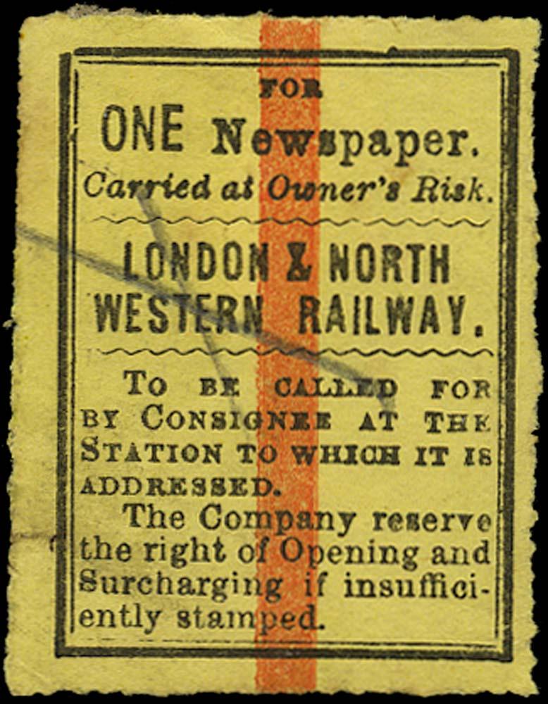 GB 1865 Railway - London & North-Western Railway