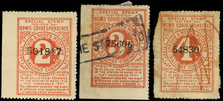 GB 1885 Railway - London & North-Western Railway