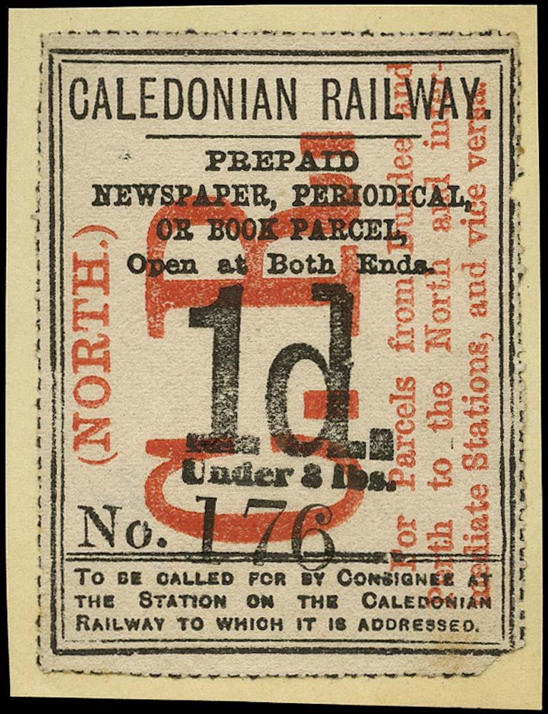 GB 1865 Railway - Caledonian Railway
