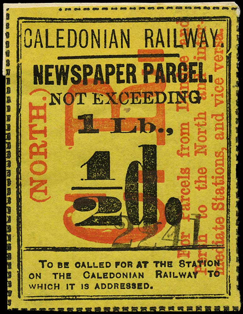 GB 1870 Railway - Caledonian Railway