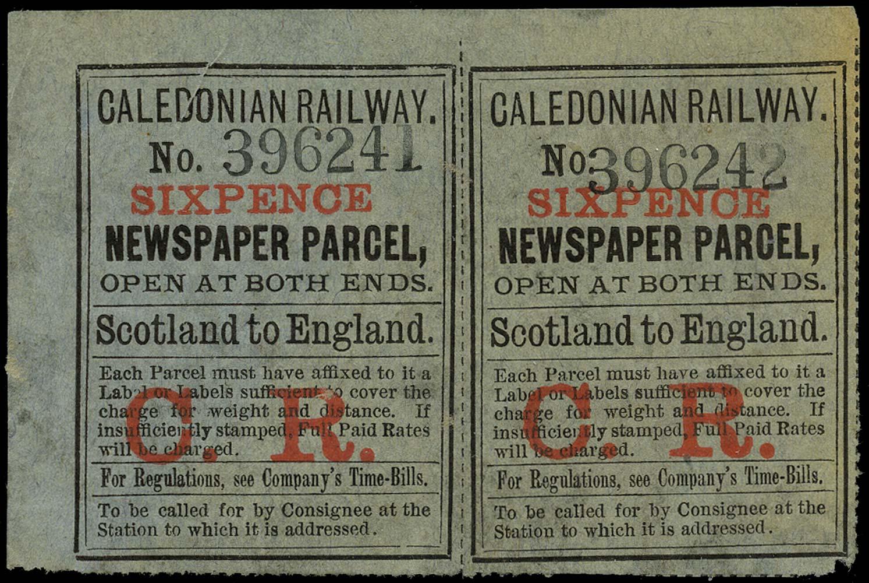 GB 1890 Railway - Caledonian Railway