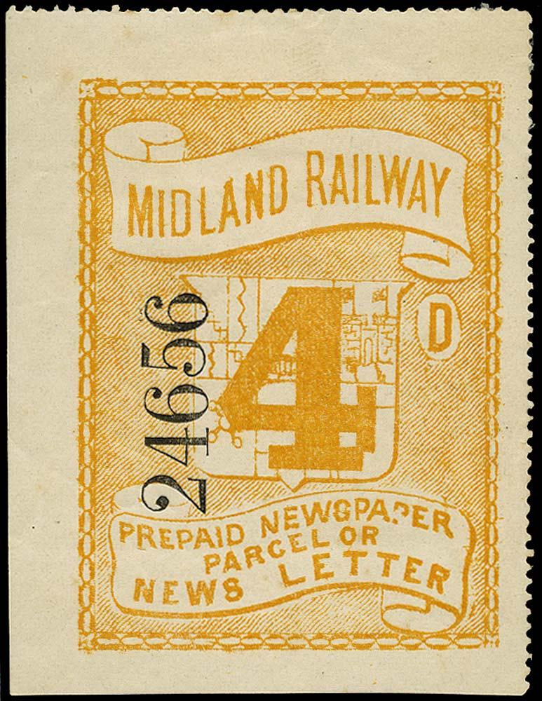 GB 1855 Railway - Midland Railway