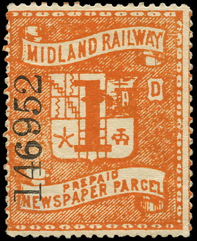 GB 1880 Railway - Midland Railway