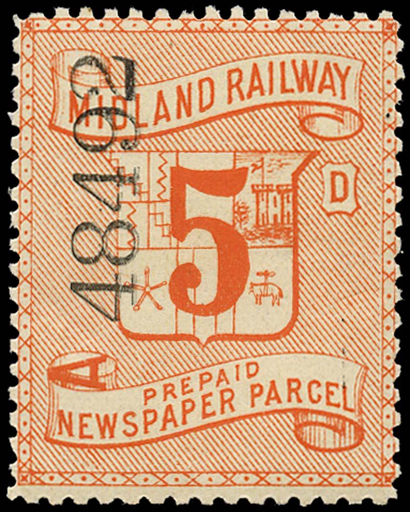 GB 1895 Railway - Midland Railway