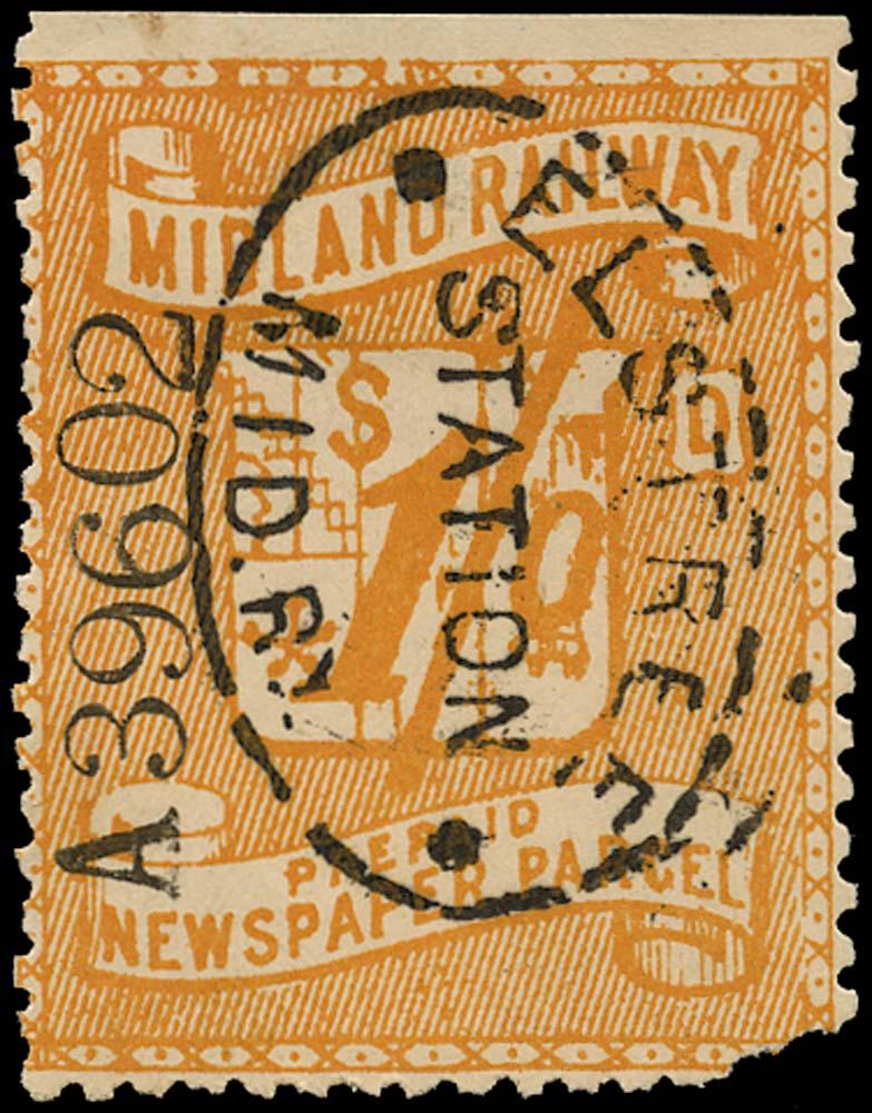 GB 1885 Railway - Midland Railway