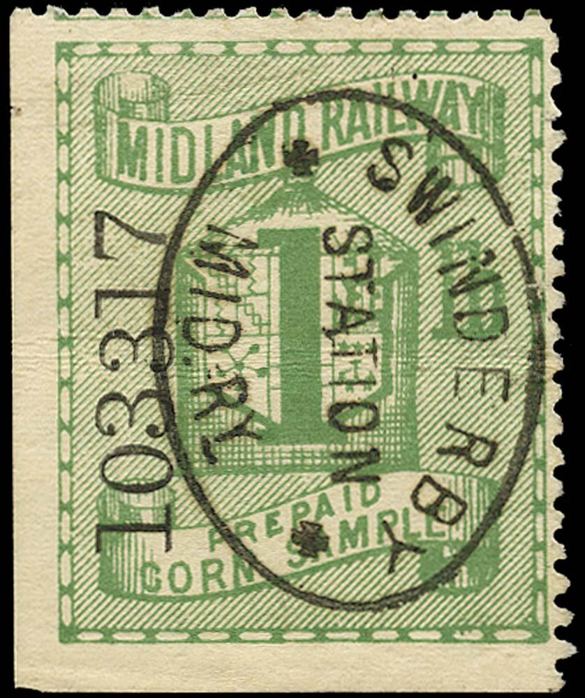 GB 1884 Railway - Midland Railway
