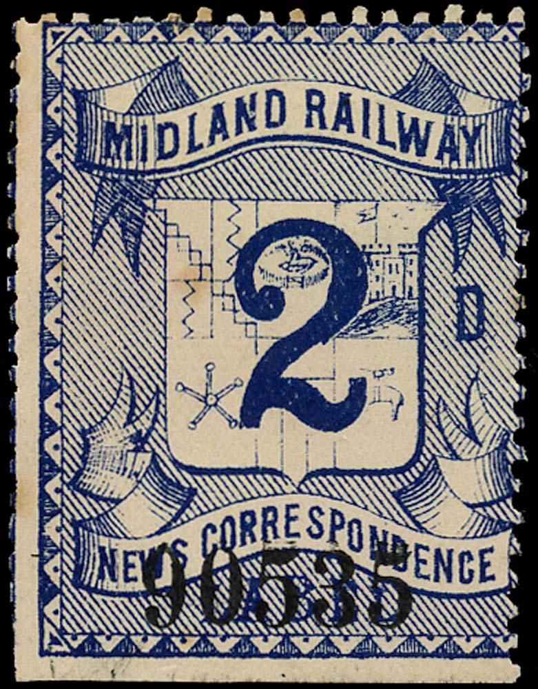 GB 1890 Railway - Midland Railway