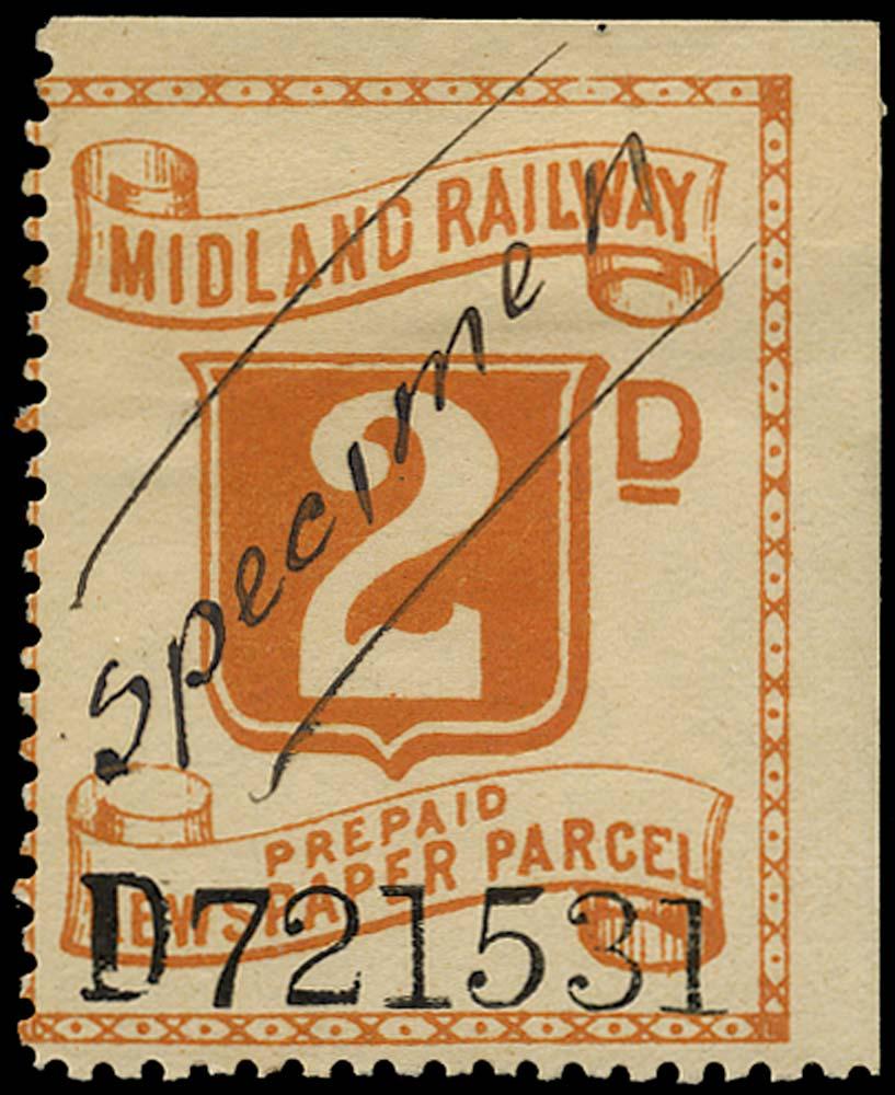GB 1907 Railway - Midland Railway
