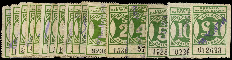 GB 1905 Railway - Midland Railway
